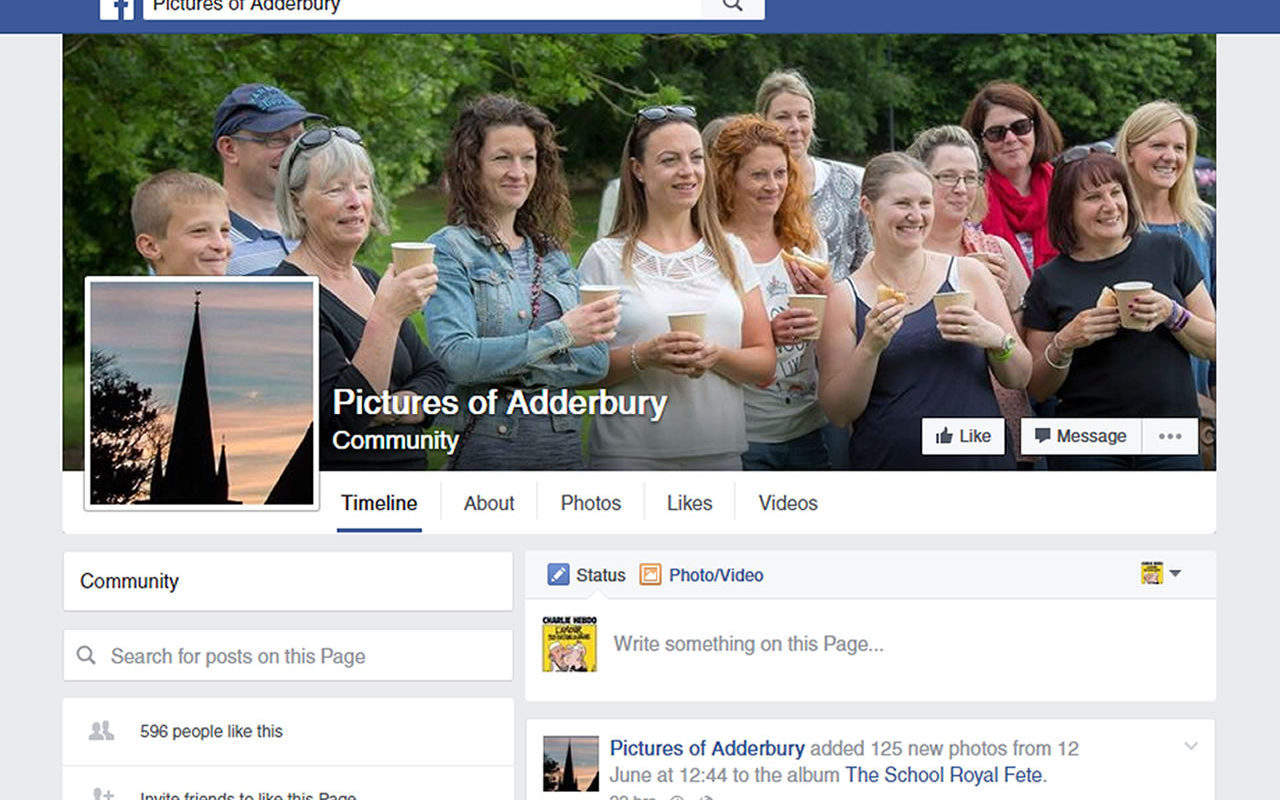 Pictures of Adderbury Facebook Page
